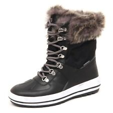 D8506 (without box) stivale donna tissue COUGAR VIPER black boot woman