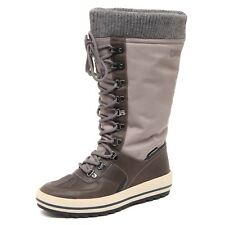 D8582 (without box) stivale donna tissue COUGAR VANCOUVER brown/taupe boot woman