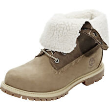 Timberland Authentics Teddy Fleece WP Fold-Down Shoes Women taupe 2018 Schuhe
