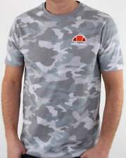 Ellesse Canaletto T Shirt in Grey Camo print - short sleeve crew tee