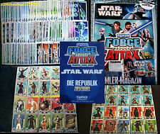 Topps FORCE ATTAX Star Wars CLONE WARS Serie 1 - Trading Cards Sammelkarten