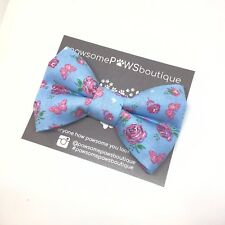 Dog Bow Tie | Handmade Dog Bow | Bow Tie For Dog | Flower Bow Tie