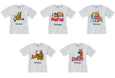 Personalised Children's T-Shirt - Scooby Doo - Styles 1-5 - Sizes 1-14 yrs