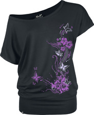 Full Volume by EMP Butterflies Maglia donna nero