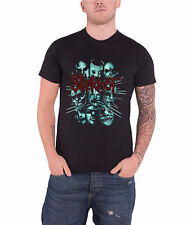 Slipknot Masks gray chapter band logo officiel Homme nouveau Noir T Shirt