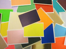 99x65mm Rectangulo Pegatinas Grande De Color ETIQUETAS ADHESIVAS - 28 colours