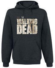 The Walking Dead Walkers Fence Felpa con cappuccio nero