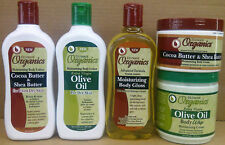 Ultimate Organics Cocoa Butter&Shea Butter/Olive Skin Care Products-Free UK Post