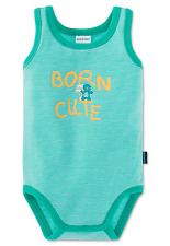 Schiesser BODY SIN Arm Born CUTE gr 68 74 80 86 92 98 104 cuerpos