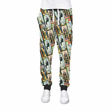 Haunted Mansion Stretch Paintings Cuffed Joggers Womens Sweatpants Jogging Botto