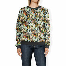 Haunted Mansion Stretch Paintings Womens Sweatshirt Sweater XS-3XL