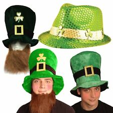 St Patrick' Day Fancy Dress Hat's Party Accessories Irish St Paddy's Eire