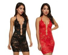 SALE Ann Summers KADY CHEMISE, Red/Black/Ivory *NEW* RRP£28 Sexy, Diamante, Lace