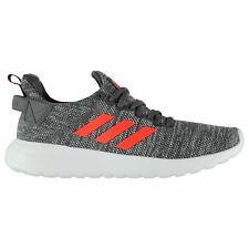 adidas CloudFoam Lite Racer BYD Trainers Mens Grey/Rd/Wht Athletic Sneaker Shoes