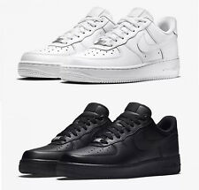 SNEAKERS BASSE UOMO NIKE AIR FORCE 1 '07 315122 111 BIANCO - 001 NERO TOTAL
