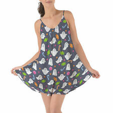 Ghosts with Candy Beach Cover Up Dress XS-3XL