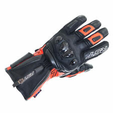 RST Paragon 5 Red Black Mens Leather Motorcycle Waterproof Breathable CE Gloves