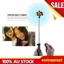 Monopod Selfie Stick Handheld Tripod Bluetooth Shutter For iPhone 6 7 MC