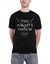 Game Of Thrones T Shirt The Nights Watch Oath Jon Snow officiel Homme nouveau