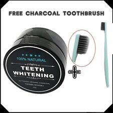 Activated Charcoal Teeth Whitening Organic Coconut Shell Powder Carbon Coco MC