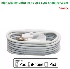 1m Lightning Sync Charger USB Data Cable For Apple iPhone 6 5 7 8 X iPad Air 2