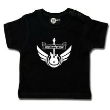 Baby T-Shirt Loud and Proud Metal Kleinkind Heavy Rock Funshirt Shirt