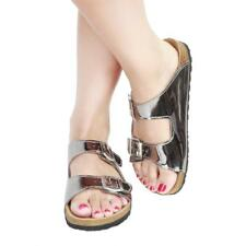 Ana Lublin Zapatos Mujer Chanclas Gris 83056 BDT