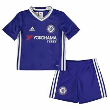 Adidas Chelsea FC Home 2016 2017 Mini Kit Childs Football Soccer Jersey Shorts