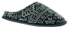 New Mens/Gents Navy Slip Ons Mules Slippers UK Size