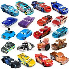 New Pixar Cars 3 1:55 Mickey Flash McQueen The King Frank Metal Car Toy