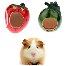 Hamster Ceramic House Nest Small Pet Toy Crawling Cage for Squirrel Guinea Pig