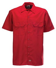 Chemise Dickies SOUS LICENCE Work Shirt Original rouge (M/L/XL/2XL)