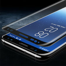 3D Curved /PET Tempered Glass For Samsung Galaxy S9 Plus/S8 Screen Protector AY1