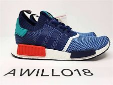 Adidas X Packer Shoes NMD R1 UK 9.5 US 10 BB5051 PK Consortium Blue Red Green