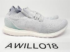 Adidas Ultra Boost Parley Ocean Uncaged White Grey Aqua UK 10.5 US 11 EU 45 1/3
