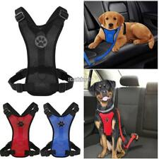 Pet Hunde Welpen Verstellbare Kragen Brust Mesh Neck Harness Nylon FF