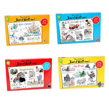 THE WORLD OF DAVID WALLIAMS COLLECTION OF JIGSAW PUZZLES 4 TO CHOOSE FROM.