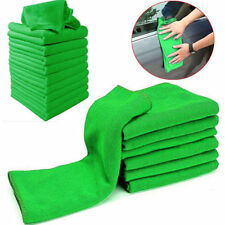 10x 25*25CM Car Soft Microfiber Absorbent Wash Clean Polish Towel Cloth 2 colors