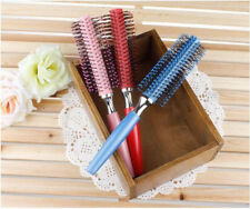 Wooden / Plastic Roller Hair Comb With Dryer For Salon / Professional Use
