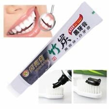 New 100g Bamboo Charcoal Teeth Whitening Black Toothpaste Oral Hygiene Care Iv
