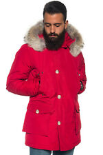 WOOLRICH GIACCONE UOMO ARCTIC PARKA DF ROSSO