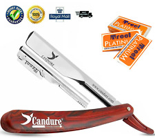 Razor Blades Double Edge Safety Straight Barber Smooth Men Shave 4,6,8,10 Packs