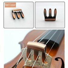 Practical Violin Metal Mute Fiddle Silencer 3 Prong Design Mute For Violin DP