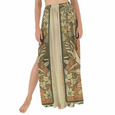 Art Deco Paris Maxi Sarong Skirt