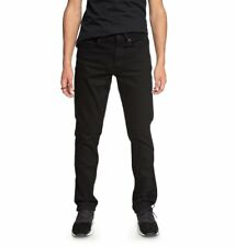 DC Shoes™ Worker Black Rinse - Straight Fit Jeans - Hombre