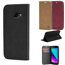 Housse Portefeuille Samsung Galaxy Xcover 4 Etui Cuir Eco Coque Flip Cover Linci