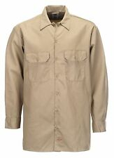 Chemise Dickies SOUS LICENCE Long Sleeve Original Beige (L/2XL) workwear