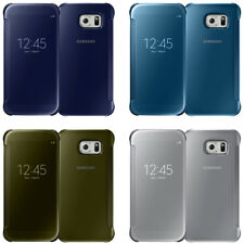 OEM Original Samsung Clear View Flip Cover Case For Samsung Galaxy S6 All Colors
