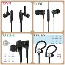 Wired Bluetooth 4.0 Earphone Stereo Headset Hands-free Sports Earbuds Lot GT