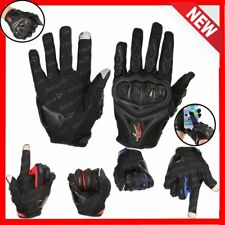 Touchscreen Motorcycle Motorbike Motocross Racing Riding Full Finger Gloves OG